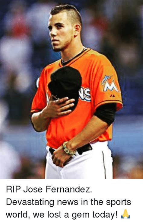 Jose Fernandez Meme - funny lost and sports memes of 2016 on sizzle
