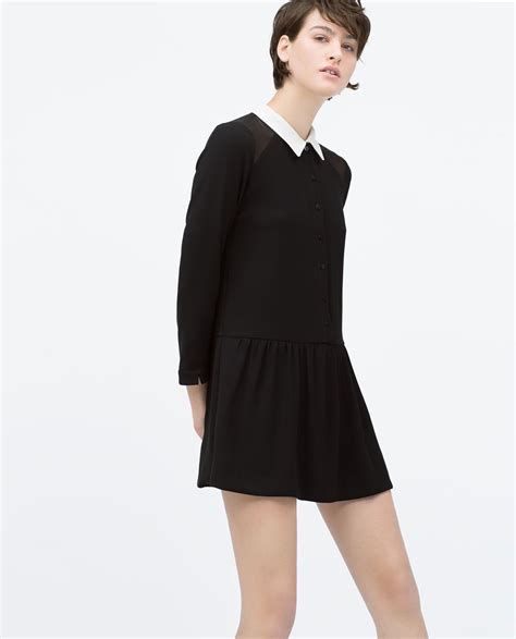 Collar Zara Dress pan collar jumpsuit mini dresses zara united
