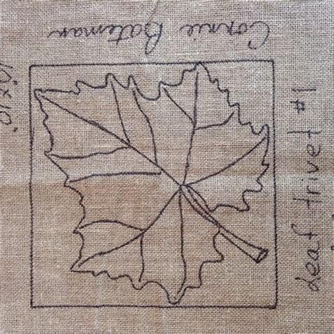 punch needle rug patterns leaf trivet 1 rug hooking punch needle pattern by lcswoolnsilk