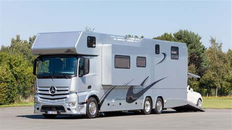 Volkner by Mercedes Benz Antos And Actros Turned Into Campers