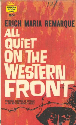 all on the western front book report rozmarins spice of all on the western front