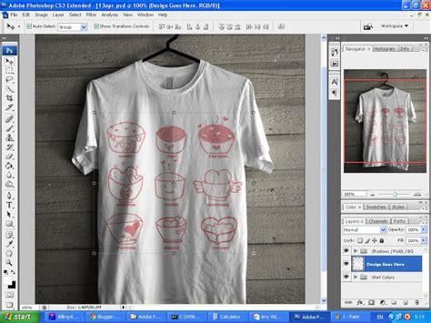 mockup design baju technology informatic s cara membuat design t shirt mudah