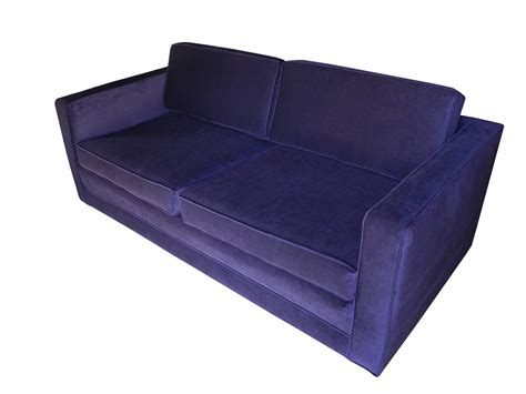 purple velvet sofa for sale mid century modern purple velvet sofa settee by charles