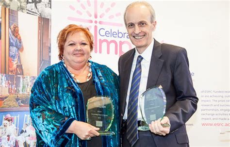 alan walker university of sheffield research which makes a difference recognised by new awards