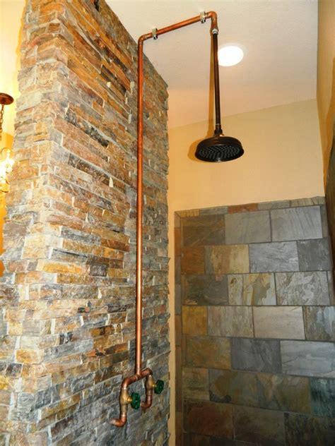 Bathroom Restoration Ideas bespoke copper and brass taps