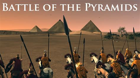 the war of the total war rome 2 battle of the pyramids youtube