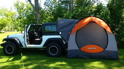 Jeep Tent Rightline Gear Cing And Travel Tip Along With Car