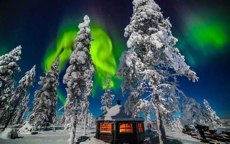 finland in december northern lights northern lights in lapland pics ngiggles