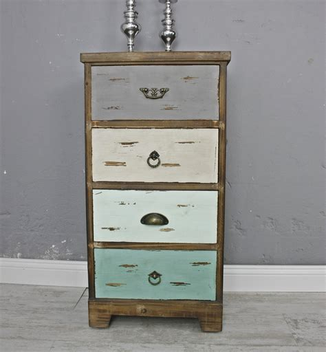 Kommode Shabby Chic by Kommode Holz Bunt Shabby Chic