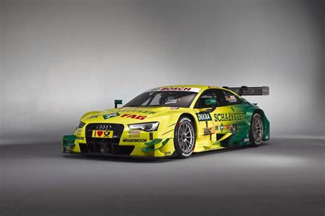 audi to challenge bmw s m4 with the 2014 rs5 dtm race car