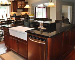 black kitchen faucet with soap dispenser inimitable black granite kitchen island of rubbed