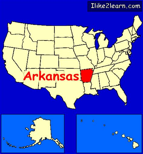 map usa arkansas arkansas