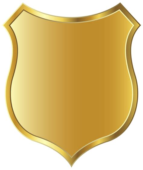 Golden Badge Template Png Clipart Picture Gallery Yopriceville High Quality Images And Picture Badge Template