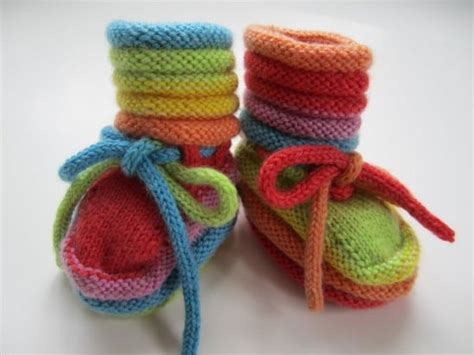 free knitting pattern baby slippers knitted baby booties free patterns cutest ideas