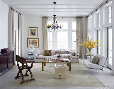 elle decor celebrity homes chic living room decorating ideas and design elle decor