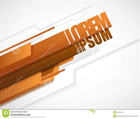 modern home design vector modern layout orange stock photography image 35707812