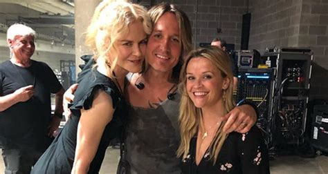 keith urban cancels gig after wife nicole kidman kidman reese witherspoon reunite at keith