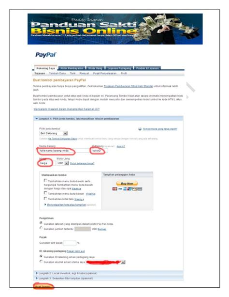 membuat phising paypal mendaftar paypal bisnissakti com