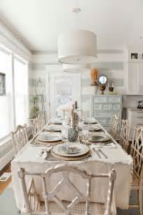 Beautiful shabby chic dining room modern home exteriors