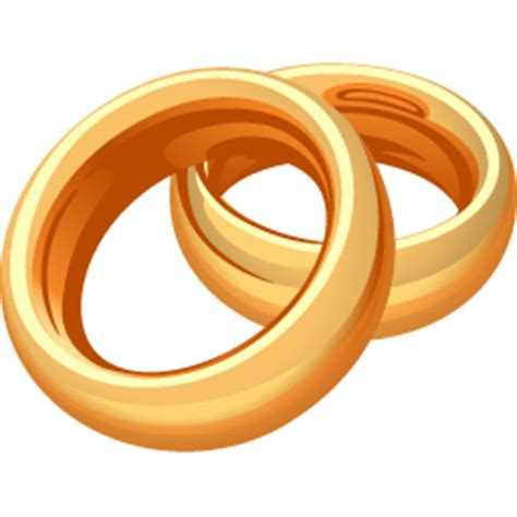 wedding rings icon   download free icons