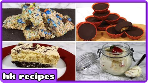 baked new year goodies 4 easy 3 ingredient no bake desserts diy new year