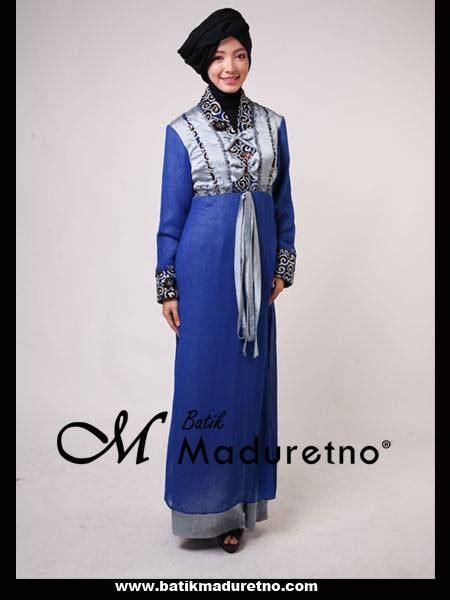 Gamis Cantik Untuk Pesta batik maduretno indonesia fashion designer