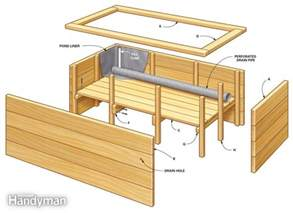 diy elevated cedar planter box plans plans free