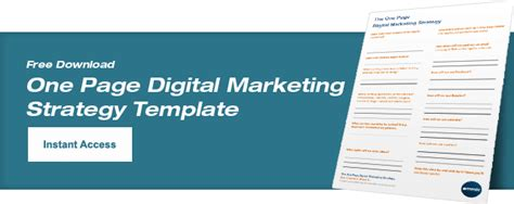 Free Digital Marketing Plan Template Emmix Digital Marketing Strategy Template