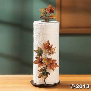 paper towel holder countertop maple leaf fall harvest countertop paper towel holder home