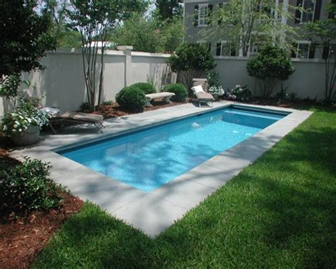 Backyard Pool Length Best 25 Rectangle Pool Ideas On Backyard Pool