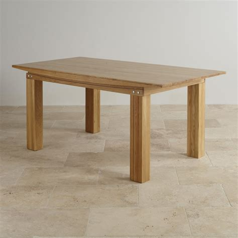 6ft Dining Table Tokyo Solid Oak 6ft X 3ft Dining Table Dining Room Furniture