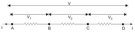 resistor in parallel with nothing resistances in series and resistances in parallel