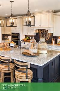 Kitchen Island Chandelier Lighting is the key to the kitchen in the raleigh model three chandeliers