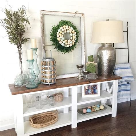 decorating console table for 25 best ideas about foyer table decor on