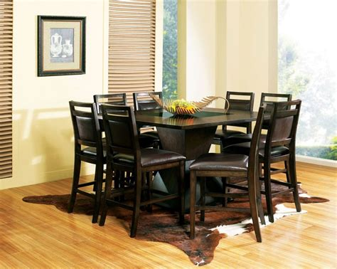 9 pc square dinette dining room table set and 8 chairs ebay pinterest