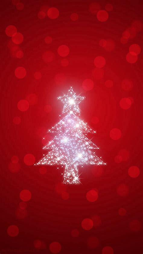 red bokeh silver christmas tree iphone background phone wallpaper lock screen fondo de