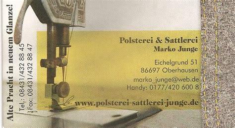 raumausstattung oberhausen kontakt impressum www polsterei polsterei junge de