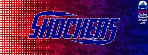 Shocker Is Own Fan by Shockers Engelhardt Baseball Custom Baseball Jerseys