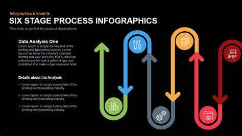 Timeline Infographics Templates For Powerpoint six stage process infographics powerpoint keynote template