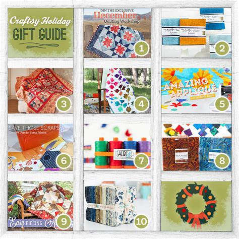 Handmade Gifts For Quilters - handmade gifts to stitch up for fellow quilters and