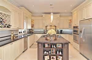 Kitchen Island Steel Classic Kitchen Design And Renovation In Richmond Hill