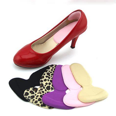 high heels cushion 1 pair foot care protector high heel shoe liner grip back