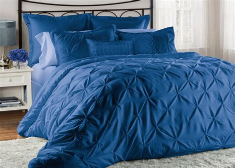 blue bed in a bag 12 piece lucilla imperial blue bed in a bag set ebay