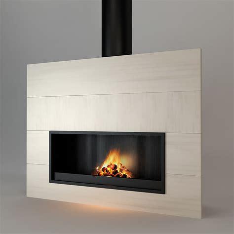 3d kamin 3d model modern fireplace
