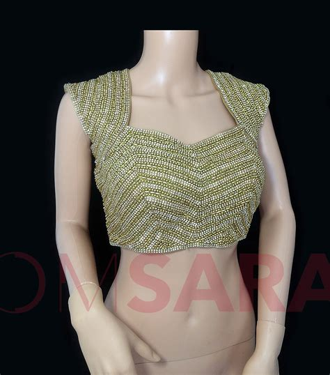 beaded blouses gold beaded blouse omsara