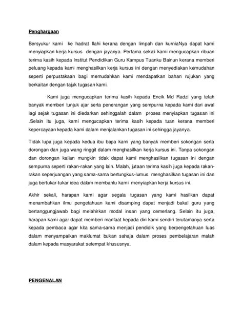 contoh ayat penutup folio review ebooks