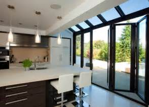 Single Pendant Lighting Over Kitchen Island modern and contemporary bespoke glass extensions