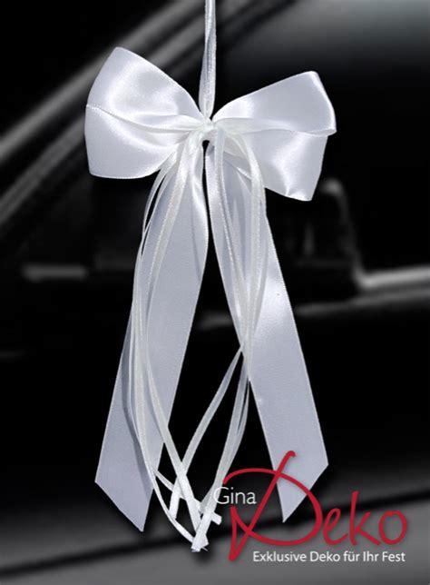 Hochzeitsschleifen Auto by 10 Antennenschleifen Wei 223 Autoschmuck Autoschleifen