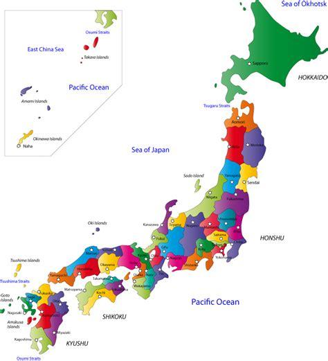 printable maps japan japan prefectures map japan 日本 pinterest japan and