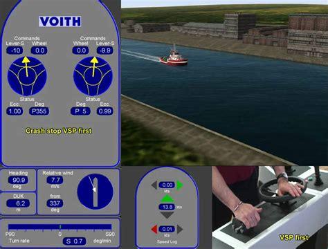 twin screw boat handling simulator simflex navigator simulation model test tug wmv doovi